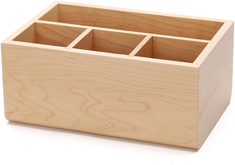 Schreibwaren-Aufbewahrungsbehälter des hölzernen Multifunktionsstifts kreative Art und Weise Festholz Festholz Festholz B0796CQQ2D | Einfach zu bedienen  c9d7ae