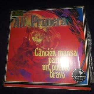 Alí Primera en Canción Mansa Para Un Pueblo Bravo // Cigarron / promus Vocal Folk