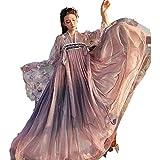 Wangjia Hanfu Vestido Tradicional Chino Hanfu Falda de Pecho Completo Traje de Cosplay...