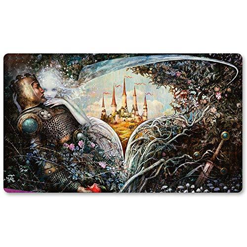 Throne of ELDRAINE Teaser -Brettspiel MTG Spielmatte Tischmatte Spielmatte Spielmatte Größe 60x35cm Mousepad Spielmatte für TCG Magic The Gathering