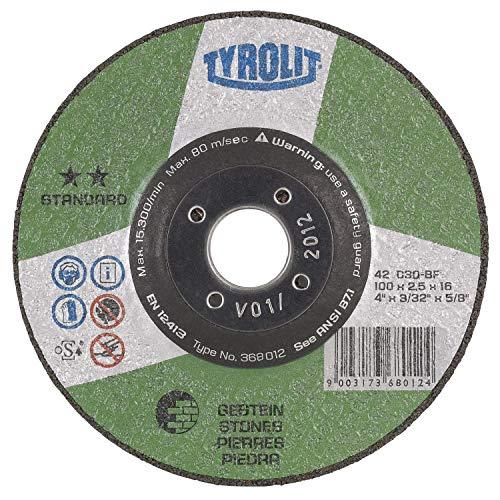 TYROLIT Trennscheibe Standard** Gestein   230x3 mm   gekröpft   Form 42   1 Stück