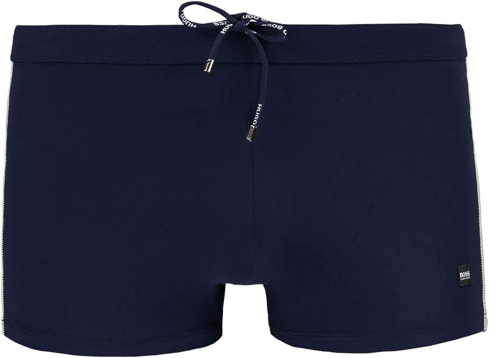 Hugo boss swimwear  ,costume da bagno per uomo, ad asciugatura rapida,72% poliammide, 28% elastan Oyster