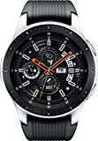 Samsung Galaxy Smartwatch 46mm Silver GPS Fitness Track Dust Water Resistant (Renewed)