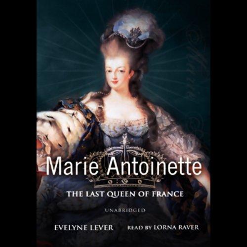 Marie-Antoinette audiobook cover art