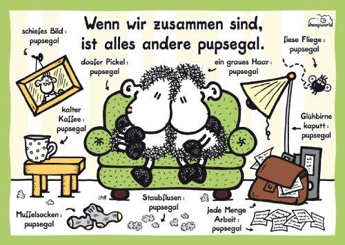 Ravensburger 80057 - sheepworld: pupsegal - 1000 Teile Puzzle und CEWE Fotobuch Gutscheinbuch