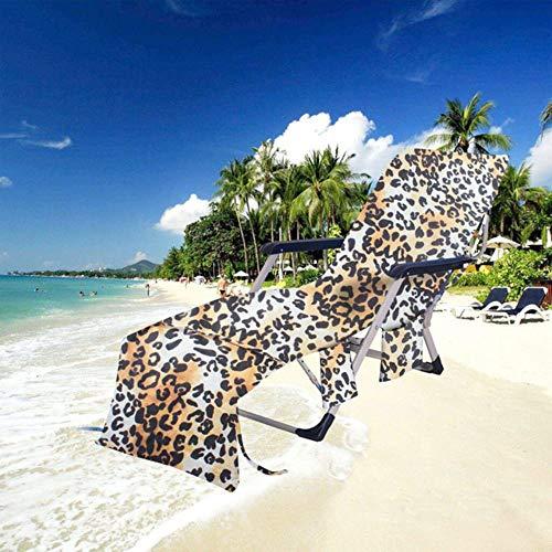 LinZX Sommer Hammock Beach Towel Lehnstuhl Abdeckung Beach Chair Handtuch Handtuch Strand-Stuhl Decke Abdeckung Big Gewicht Endurance 75x215cm G3,Pink