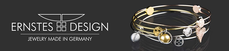 Ernstes Design Ohrringe Perle E149 Edelstahl vergoldet Ohrstecker Zuchtperle