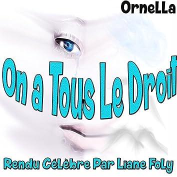 On a tous le droit: rendu célèbre par Liane Foly