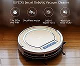 ILIFE X5 Smart Robotic Vacuum Cleaner - TYRANT GOLD