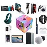 ETScooter Mystery Box Elettronica(Al Menos 2 Elementos),Luck Surprise Box,Electrónica de Caja de Suerte al Azar como Drones,Relojes Inteligentes,Gamepads,Cámaras Digitales y Más