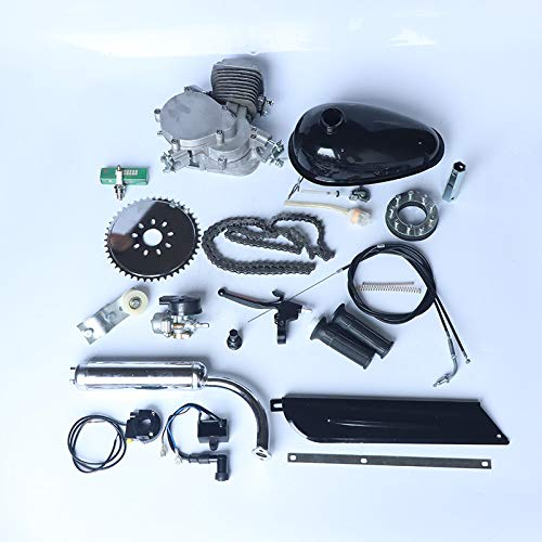PaNt 26' 28' Bicycle Engine Kit 2 Stroke Motorized Bike Kit Easy to Assemble and Build Up, All Packed 80cc Bicycle Engine Kit Bike Repair Tool Kit Motorised Bicycle For Most 26 Or 28 Inch Bicycles