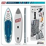 grandtoursports*com Tabla de surf de remo, 82,5 x 354 x 15 cm,...