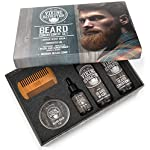 Ultimate Beard Care Conditioner Kit - Beard Grooming Kit for Men Softens, Smoothes and Soothes Beard Itch- Contains… 3