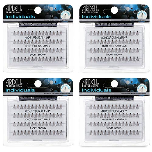 Ardell Individuals False Eye Lashes Short Brown 4 Pack