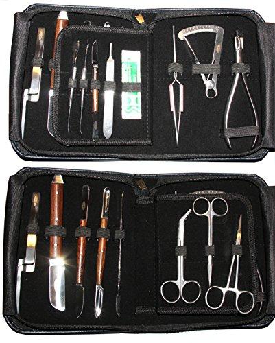 Instrumente Wachsmesser Modellierinstrumente ect.15 Stck. AZUBI-SET - Meister Set Dentallabor
