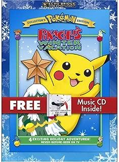Pokemon Pikachu's Winter Vacation Children's Christmas Sing-alongs