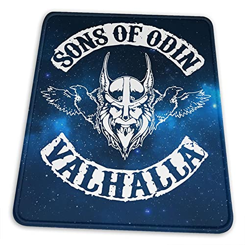 Sons of Odin Mouse Pads Non-Slip Rubber Gaming Mouse Pad Mouse Pads for Computers Laptop