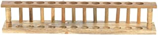 Wooden Test Tube Rack 6/8/10/12 Hole Test Tube Holder Chemical Laboratory Tool(12 Holes)
