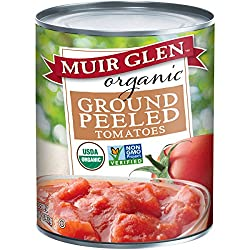 can of Muir Glen organic tomatoes, Save Money for Travel - Cheap Cabbage, www.theeducationaltourist.com