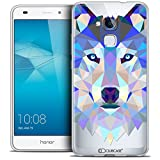 Caseink - Coque Housse Etui pour Huawei Honor 5C [Crystal Gel HD Polygon Series...