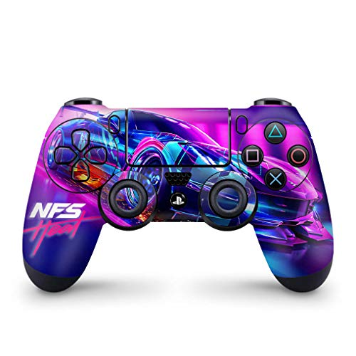 Skin Adesivo para PS4 Controle - Need For Speed Heat