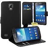 Samsung Galaxy S4 Active i9295 Handy Tasche, FoneExpert® Wallet Hülle Flip Cover Hüllen Etui Ledertasche Lederhülle Premium Schutzhülle für Samsung Galaxy S4 Active i9295