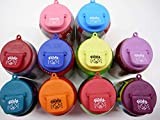 Beverage Buddee Can Cover with Party Imprint - Best Can Cover For Standard Size Soda/Beer/Energy Drink Cans - Made In The USA - BPA-PCB Free - 10 in a Pack of Assorted Colors (Plain)