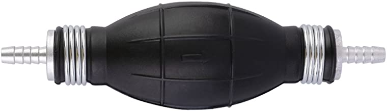 Bewant Fuel Line Pump Primer Bulb Hand Primer Pumps Rubber 6/8/10/12mm Accessories for Car Boat Marine (8mm)