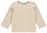 Noppies Baby-Unisex U Tee Slim ls Pasadena AOP T-Shirt, Apple Cinnamon, 74