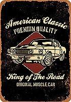 American Classic Muscle Cars ティンサイン ポスター ン サイン プレート ブリキ看板 ホーム バーために