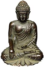 Mini Vintage Buddha Statue Purple Copper Buddha Sculpture Decoration Ornament Home Office Desk Decor Buddhism Supplies