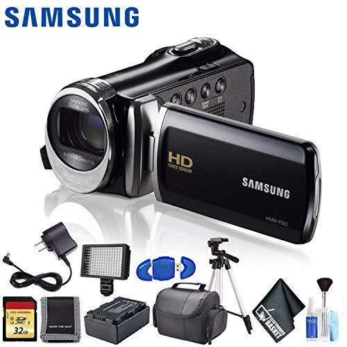 Best Prices! Samsung HMX-F90 HD Camcorder (Black) Ultimate Kit