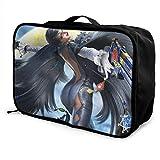Bayonetta Bolsa de viaje Lage de viaje ligera maleta portátil bolsas para mujeres hombres niños impermeable grande...