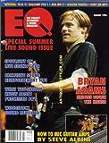 EQ Magazine August 1994 Bryan Adams Woodstock Live Sound Gear Issue Sony ADA Lexicon Vortex Tech 21 (EQ Magazine)