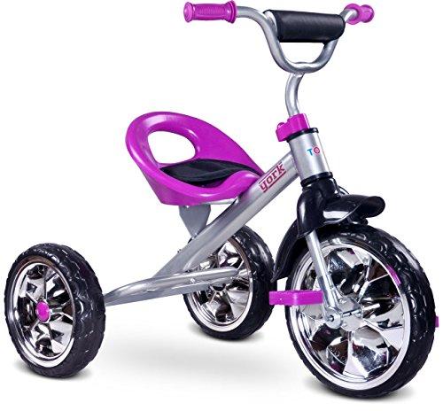 Toyz York, Triciclo per Bambini, Viola