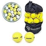 Snugen (TM) Floater Golf Range Balls, Practice Floating Balls