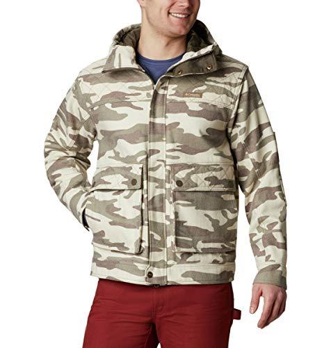 Columbia Men's Gallatin Jacket, Snow Gallatin Camo, Small
