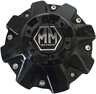 Mayhem Wheels Gloss Black C108040B01 806804B C-231-2 C-231-1-2 Center Cap