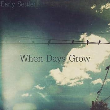 When Days Grow