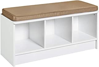Best storage bench 3 cubicles white closetmaid Reviews