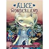 ZEHYRFGK 45 Piezas Alice The Wonderland Oracle, Juego de adivinación y pronóstico del Destino, Tarjeta de Juego de Mesa, para Principiantes, versión en inglés