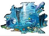 Hai Meer Hai Fisch Wandtattoo Wall sticker Kinderzimmer