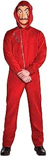 amscan Adult Mens Money Heist Costume