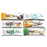 Julian Bakery Power Protein Bar   Variety Pack   Gluten-Free   6 Flavors   Low Carb   12 Bars