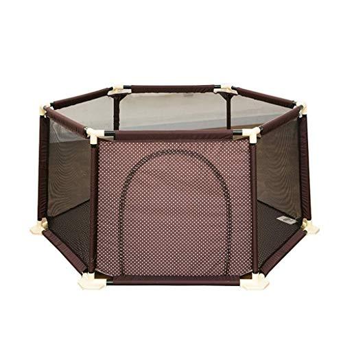 QIYUE Portable Crib Met Baby En wieg matras, Best 6-persoons Child Box binnen en buiten