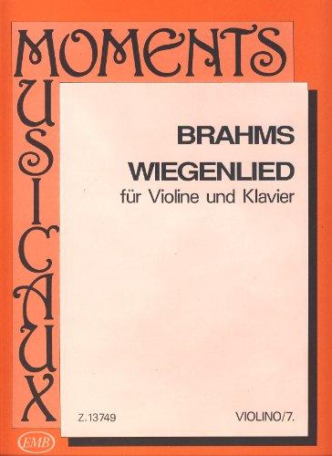 BRAHMS - Cancion de Cuna Op.49 nº 4 para Violin y Piano (Mostras/Tratai)
