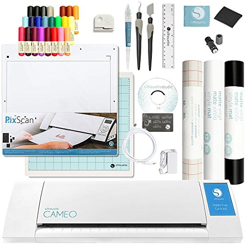Silhouette Cameo 2 Touch Screen, Sketch Pen Set, Pixscan, 2...