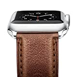 Benuo fr Apple Watch Armband 42mm Leder und Edelstahl iWatch Armband 42mm fr Apple Watch Series...