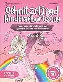 Schnitzeljagd Kindergeburtstag: Prinzessin Mirabelle und der goldene Schatz der Einhörner - Für Kinder zwischen 4-6 Jahre