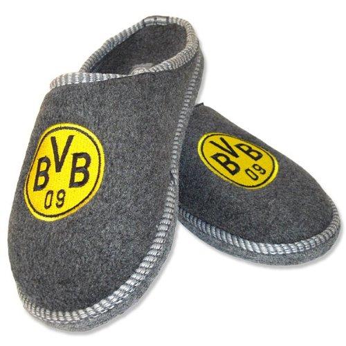 BVB-Filzpantoffel, anthrazit, 44-45